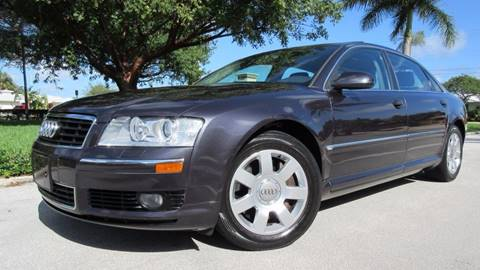 2004 Audi A8 for sale at DS Motors in Boca Raton FL