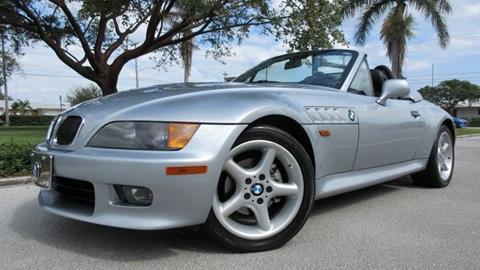 1998 BMW Z3 for sale at DS Motors in Boca Raton FL
