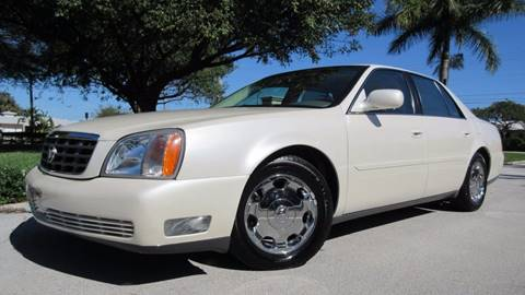 2002 Cadillac DeVille for sale at DS Motors in Boca Raton FL