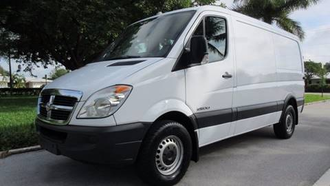 2007 Dodge Sprinter Cargo for sale at DS Motors in Boca Raton FL
