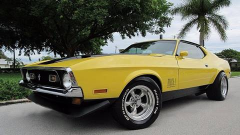 1971 Ford Mustang for sale at DS Motors in Boca Raton FL