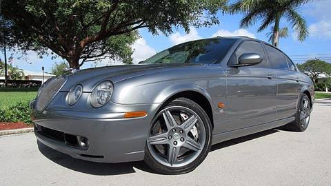 2003 Jaguar S-Type R for sale at DS Motors in Boca Raton FL