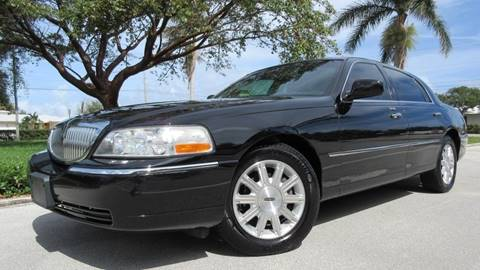 2011 Lincoln Town Car for sale at DS Motors in Boca Raton FL