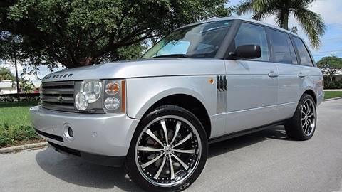 2004 Land Rover Range Rover for sale at DS Motors in Boca Raton FL