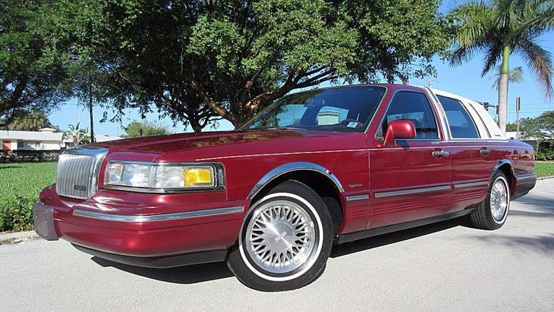 1997 Lincoln Town Car Signature 4dr Sedan In Pompano Beach Fl Ds