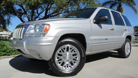 2004 Jeep Grand Cherokee for sale at DS Motors in Boca Raton FL