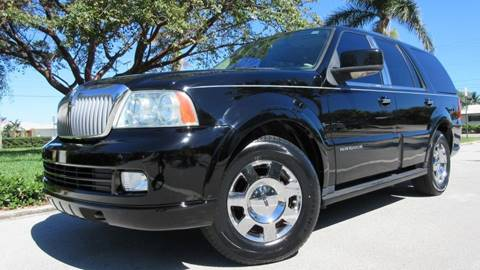 2006 Lincoln Navigator for sale at DS Motors in Boca Raton FL