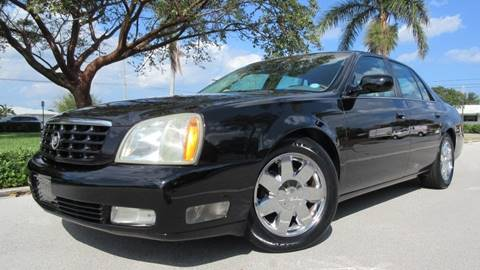 2004 Cadillac DeVille for sale at DS Motors in Boca Raton FL