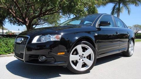2008 Audi A4 for sale at DS Motors in Boca Raton FL
