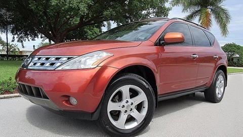 2004 Nissan Murano for sale at DS Motors in Boca Raton FL