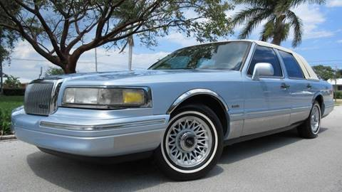 1997 Lincoln Town Car for sale at DS Motors in Boca Raton FL