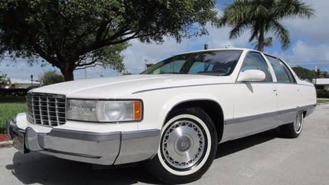 1996 Cadillac Fleetwood for sale at DS Motors in Boca Raton FL