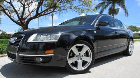 2007 Audi A6 for sale at DS Motors in Boca Raton FL