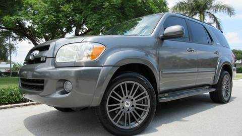 2007 Toyota Sequoia for sale at DS Motors in Boca Raton FL
