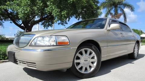 2010 Lincoln Town Car for sale at DS Motors in Boca Raton FL