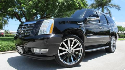 2007 Cadillac Escalade for sale at DS Motors in Boca Raton FL