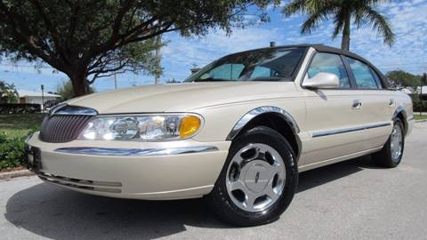 2002 Lincoln Continental for sale at DS Motors in Boca Raton FL