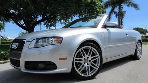 2009 Audi A4 for sale at DS Motors in Boca Raton FL