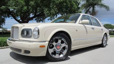 2002 Bentley Arnage for sale at DS Motors in Boca Raton FL