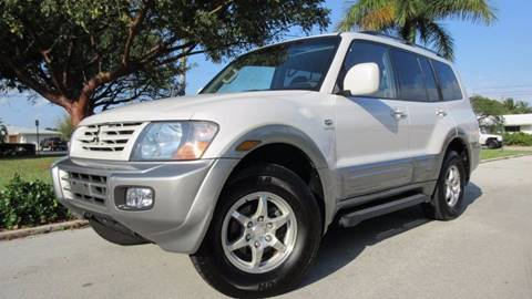 2002 Mitsubishi Montero for sale at DS Motors in Boca Raton FL
