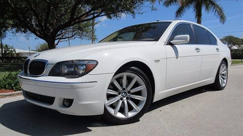 2007 BMW 7 Series for sale at DS Motors in Boca Raton FL