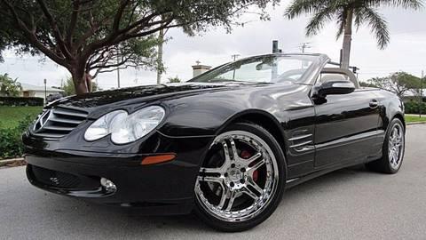 2004 Mercedes-Benz SL-Class for sale at DS Motors in Boca Raton FL