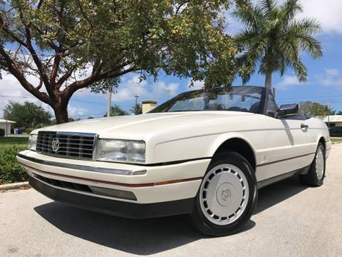 1992 Cadillac Allante for sale in Pompano Beach, FL