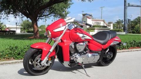 2013 Suzuki Boulevard  for sale at DS Motors in Boca Raton FL