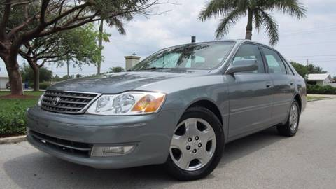 2003 Toyota Avalon for sale at DS Motors in Boca Raton FL