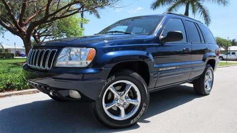 2001 Jeep Grand Cherokee for sale at DS Motors in Boca Raton FL
