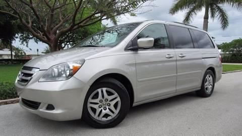 2005 Honda Odyssey for sale at DS Motors in Boca Raton FL