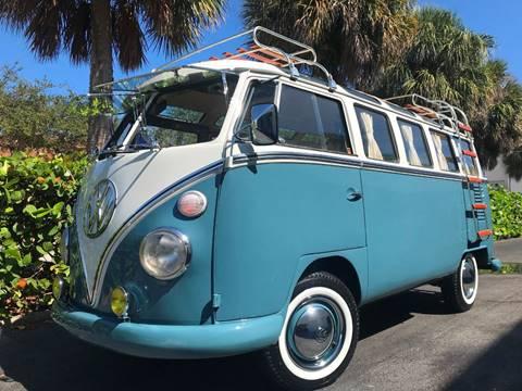 1972 Volkswagen Vanagon for sale in Pompano Beach, FL