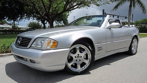 2002 Mercedes-Benz SL-Class for sale at DS Motors in Boca Raton FL