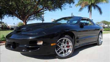 1999 Pontiac Firebird for sale in Pompano Beach, FL
