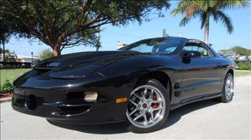1999 Pontiac Firebird for sale at DS Motors in Boca Raton FL