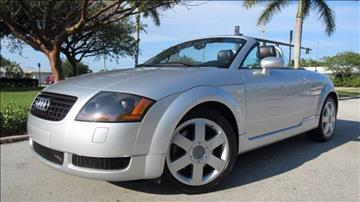 2001 Audi TT for sale at DS Motors in Boca Raton FL