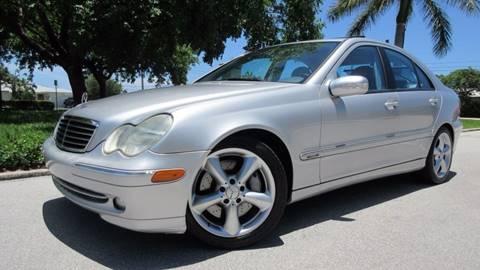 2004 Mercedes-Benz C-Class for sale at DS Motors in Boca Raton FL
