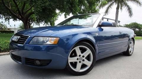 2005 Audi A4 for sale at DS Motors in Boca Raton FL