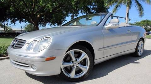 2005 Mercedes-Benz CLK for sale at DS Motors in Boca Raton FL