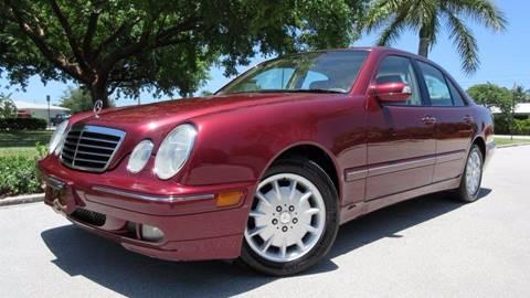 2000 Mercedes-Benz E-Class for sale at DS Motors in Boca Raton FL