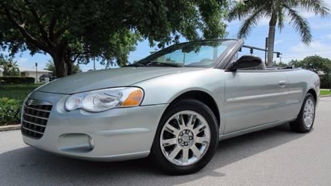 2004 Chrysler Sebring for sale at DS Motors in Boca Raton FL