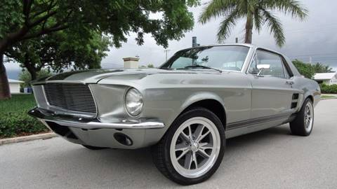 1967 Ford Mustang for sale at DS Motors in Boca Raton FL