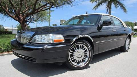 2008 Lincoln Town Car for sale at DS Motors in Boca Raton FL