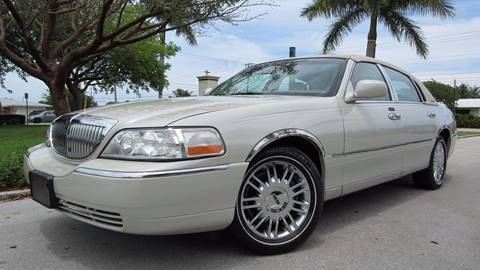 2006 Lincoln Town Car for sale at DS Motors in Boca Raton FL