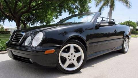 2003 Mercedes-Benz CLK for sale at DS Motors in Boca Raton FL