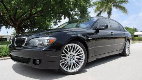 2008 BMW 7 Series for sale at DS Motors in Boca Raton FL