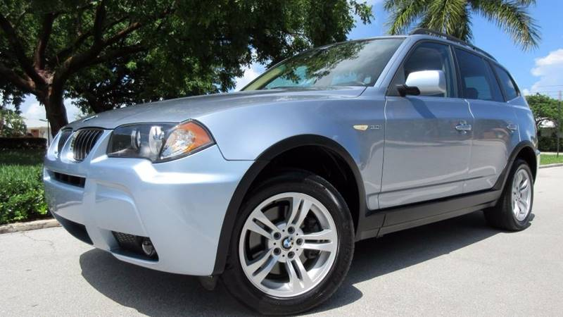 2006 BMW X3 for sale at DS Motors in Boca Raton FL