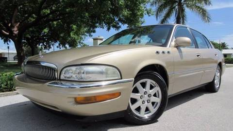2005 Buick Park Avenue for sale at DS Motors in Boca Raton FL