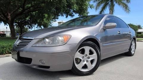 2005 Acura RL for sale at DS Motors in Boca Raton FL