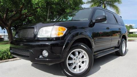 2004 Toyota Sequoia for sale at DS Motors in Boca Raton FL